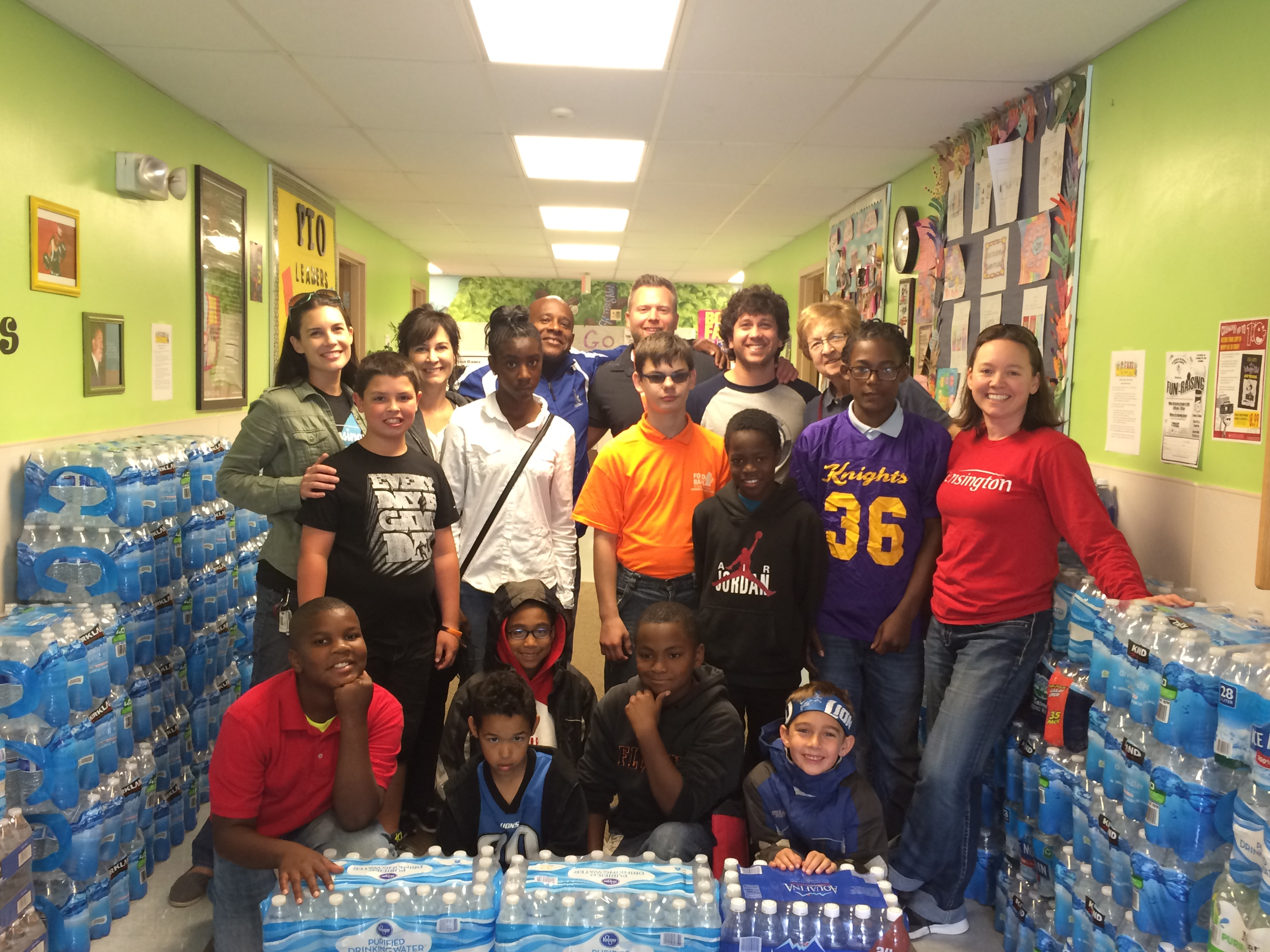 Richfield PSA water donation for community