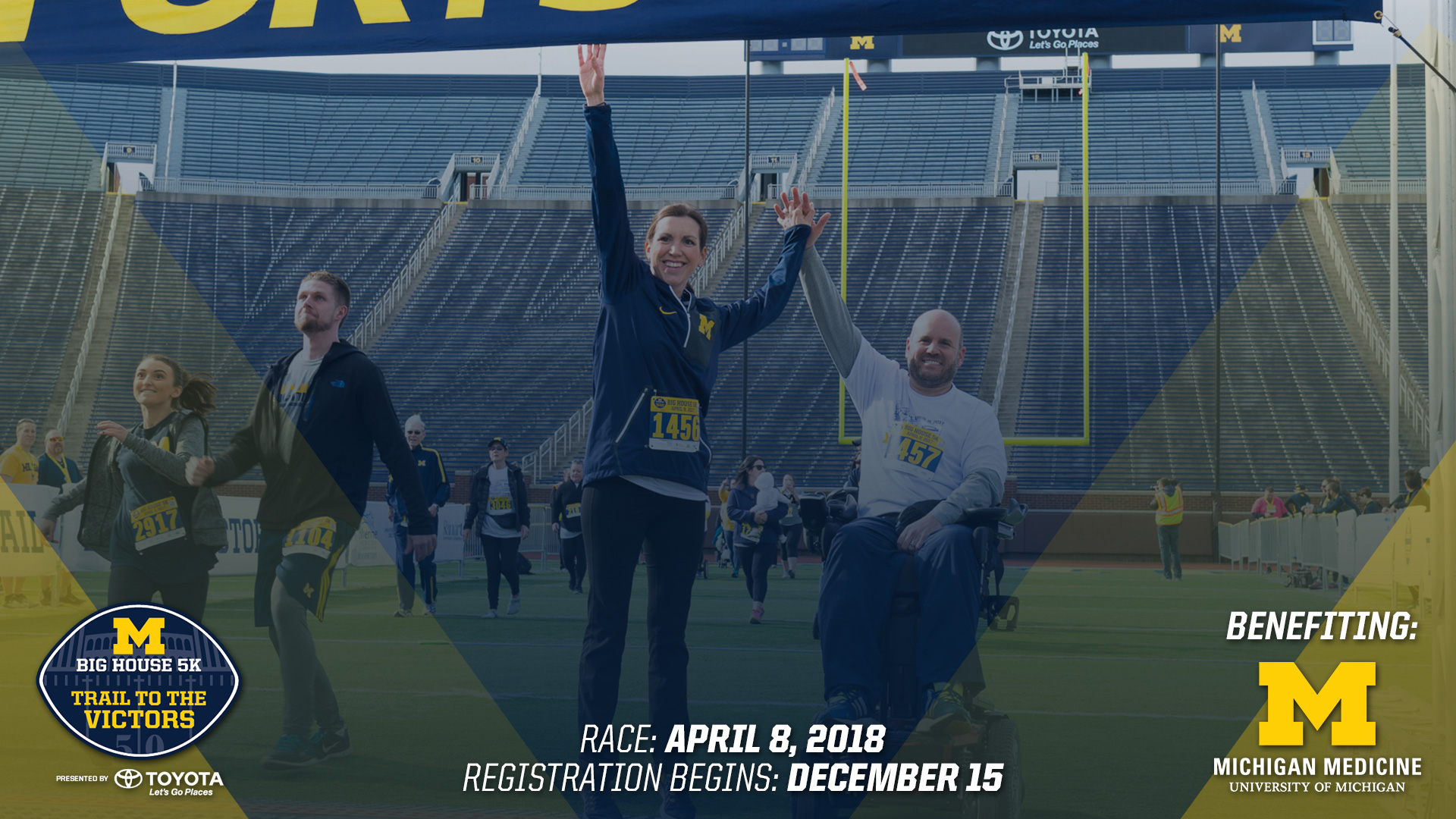 Big House 5K Trail to the Victors Presented by Toyota