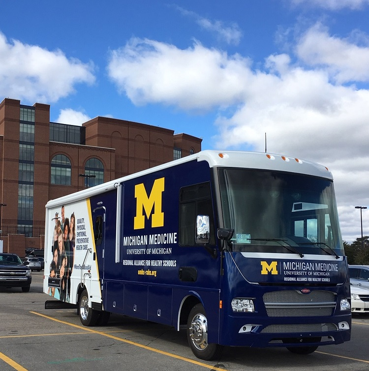 RAHS Mobile Unit for access to dental and vision services