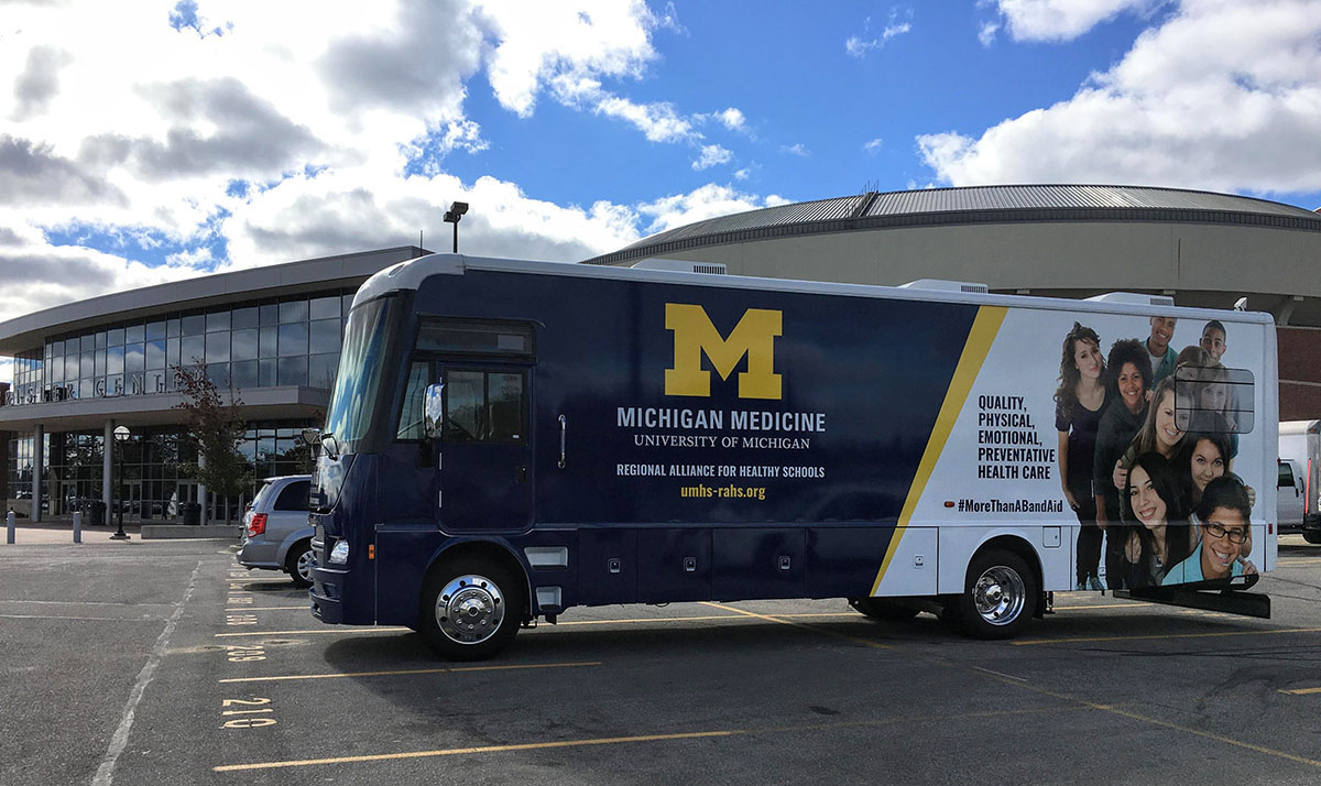 RAHS Mobile Unit for Vision and Dental Services