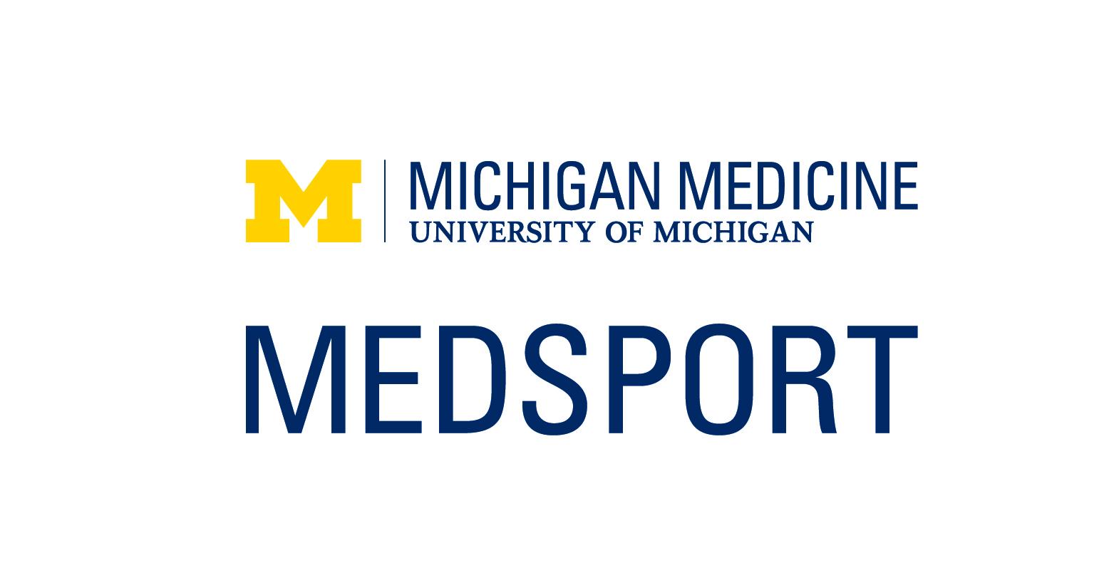 Michigan Medicine MedSport logo